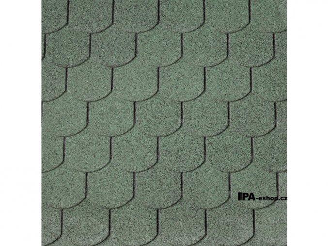 IKO Superglass Biber asfaltový šindel 03 - Amazon Green