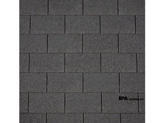 IKO Monarch asfaltový šindel 01 - Černá