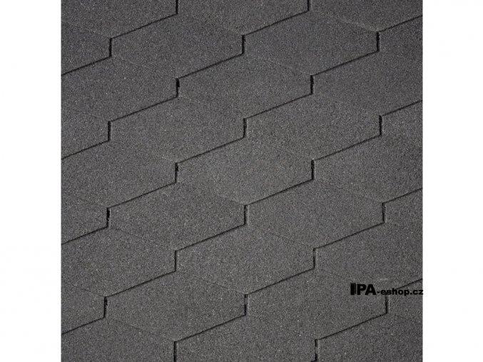 IKO Diamant Shield asfaltový šindel 01 - Černá