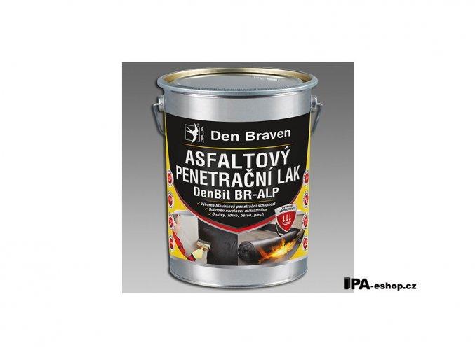 DenBit BR-ALP Asfaltový penetrační lak, 4,5 kg, plastový obal