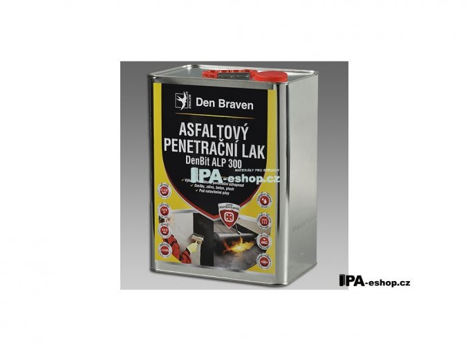 DenBit ALP 300 Asfaltový penetrační lak, 9 kg, plechovka