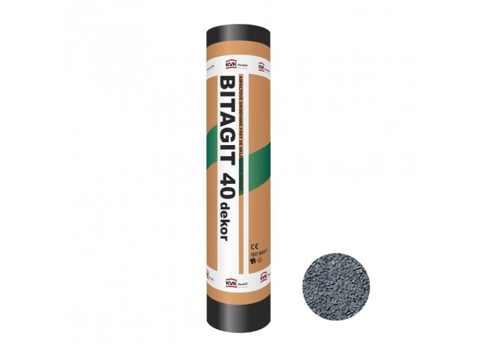 Asfaltový pás - Bitagit 40 Dekor šedý