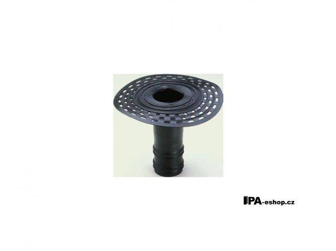 Střešní vpusť z TPE, d100mm, h250 mm