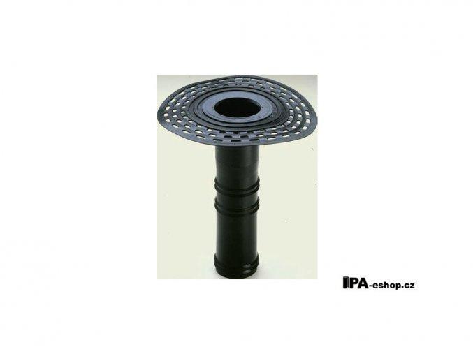 Střešní vpusť z TPE, d100mm, h400 mm