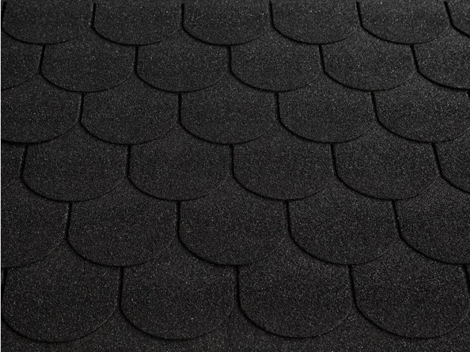 RoofShield Family Gothic  - Graphite Black