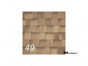 IKO Cambridge Xtreme asfaltový šindel 49 - Earthtone Cedar (3,1 m2/bal)