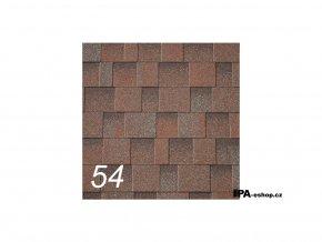 IKO Cambridge Xtreme asfaltový šindel 54 - Aged Redwood (3,1 m2/bal)