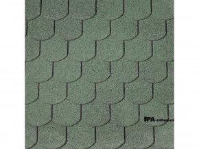 IKO Superglass Biber asfaltový šindel 04 - Lesní zelená