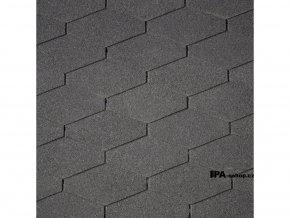 IKO Monarch Diamant asfaltový šindel 01 - Černá