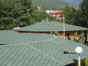 IKO Armour Shield asfaltový šindel 24 - Lesní zelená ultra
