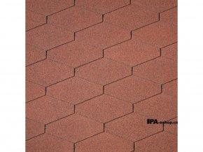 IKO Diamant Shield asfaltový šindel 10 - Cihlově červená