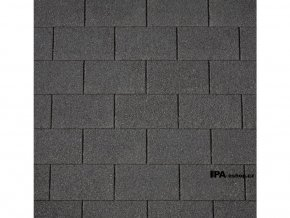 IKO Armourglass PLUS asfaltový šindel 01 - Černá