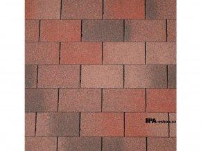 IKO Armourglass asfaltový šindel 14 - Plamenně červená