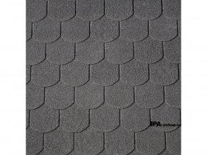 IKO Victorian asfaltový šindel 01 - Černá