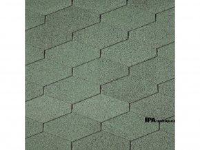 IKO Diamant PLUS asfaltový šindel 03 - Amazon Green