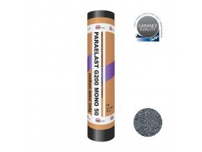 Modifikovaný asfaltový pás Paraelast G200 MONO 50 medium dekor šedý (role/5,4m2)