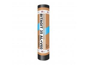 Asfaltový pás Bitagit 35 Al+V60 mineral radon (role/10m2)