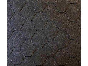 roofschield hexagonal gafitově černý