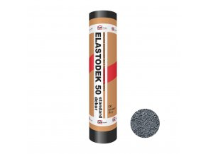Modifikovaný asfaltový pás Elastodek 50 Standard Dekor šedý (role/5m2)