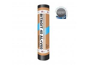 Asfaltový pás Bitagit 40 Al+V60 mineral radon (role/7,5m2)