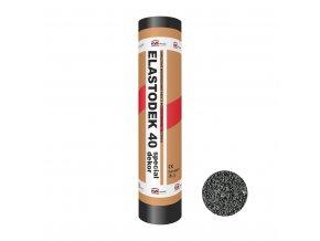 Modifikovaný asfaltový pás Elastodek 40 Special Dekor černý (role/7,5m2)