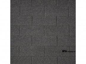 IKO Superglass  asfaltový šindel 01 - černá
