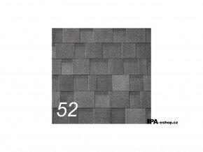 IKO Cambridge Xtreme asfaltový šindel 52 - Dual Black (3,1 m2/bal)