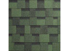 IKO Cambridge Xtreme asfaltový šindel 48 - Forest Green (3,1 m2/bal)